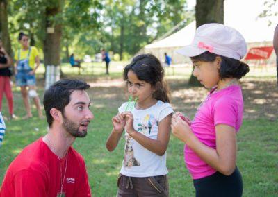 camp enfants parc des evaux